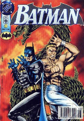 Batman 8 Dc Comics Abril Jovem 1997