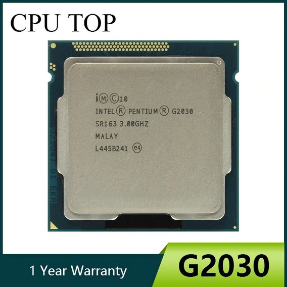 Processador Pentium G2030 Socket 1155 3.0ghz Com Cooler