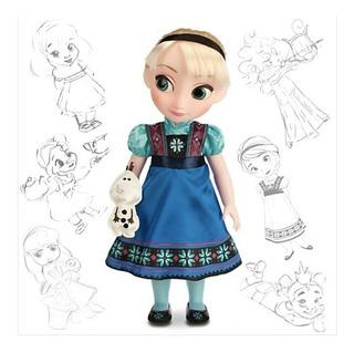 Princesa Elsa Bebe Frozen Animators Disney Original A0521