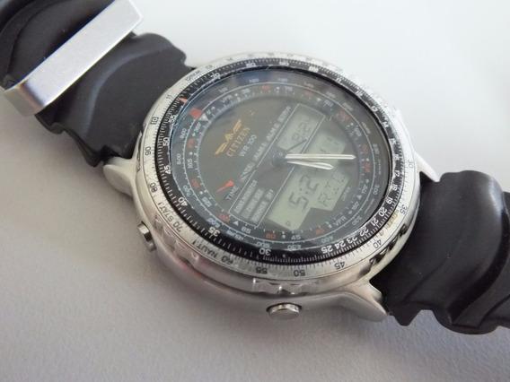 Relógio Citizen C 080 Série Prata-original