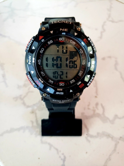 Relógio Tecnet Digital