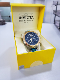 Relógio Invicta Aviator Quartz Prata Mod. 28897 - Original