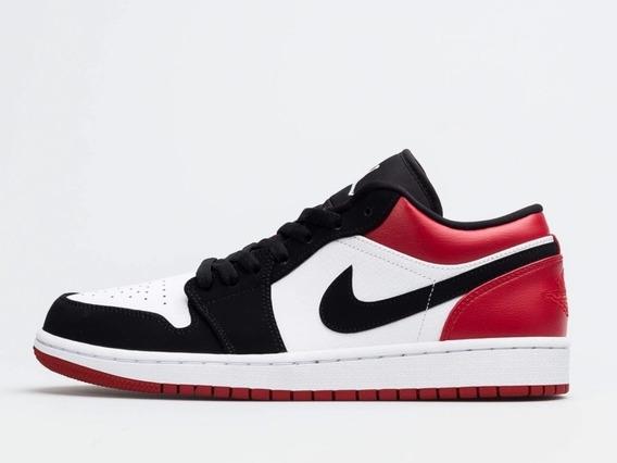 Air Jordan 1 Low Black Toe 12us