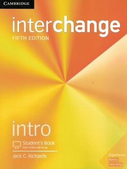 Interchange Intro Sb With Online Self-study - 5th Ed