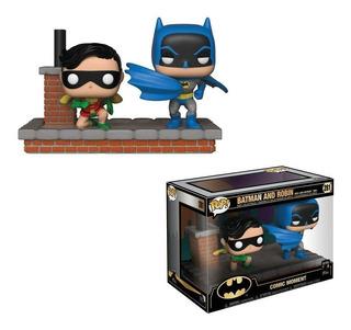 Funko Pop Moments Dc Batman & Robin 1972