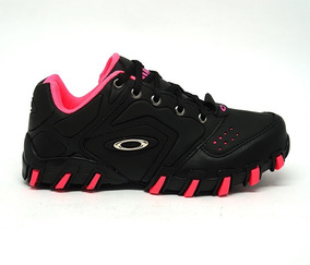 Tênis Feminino Oakley Teeth Anchor Preto E Rosa