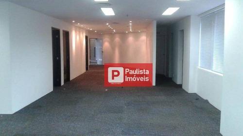 Conjunto 2 Salas Grande E 5 Vagas A 700m Est. Berrini Para Alugar, 223 M² Por R$ 30.295/mês - Cidade Monções - São Paulo/sp - Cj1792