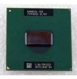 Processador Notebook Intel Sl7s9 1.86 Ghz Ppga478 E Pbga479