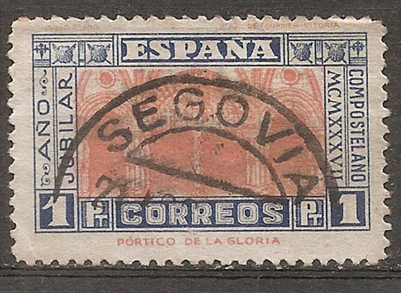 España Catálogo Yvert 596 Usada ++$