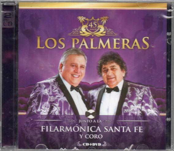 Los Palmeras Junto A La Filarmónica Santa Fe Cd + Dvd 2017