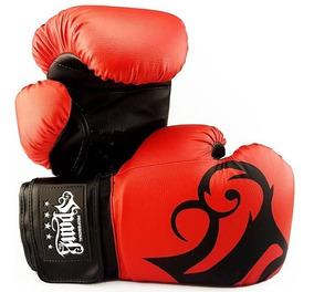 Luva De Boxe E Muay Thai Spank Vermelho