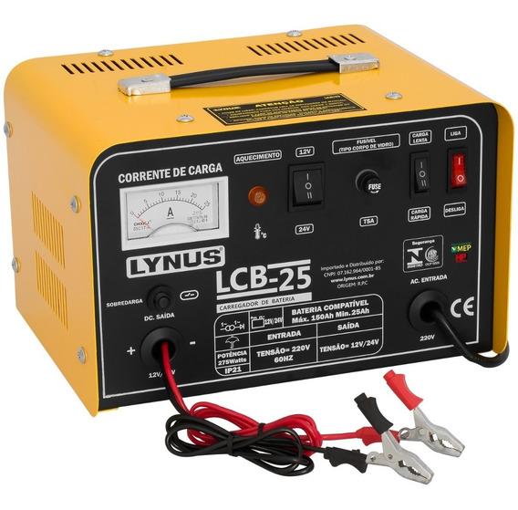 Carregador Bateria Carro Moto 25 A 150 Amperes 12v 24v Cl2