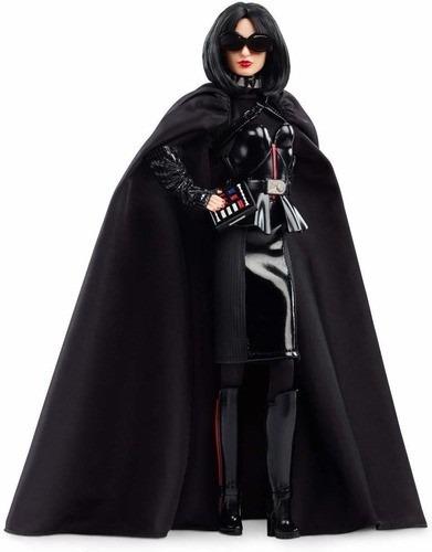 Imagem 1 de 6 de Boneca Barbie Collector Star Wars Darth Vader X Nova 2020