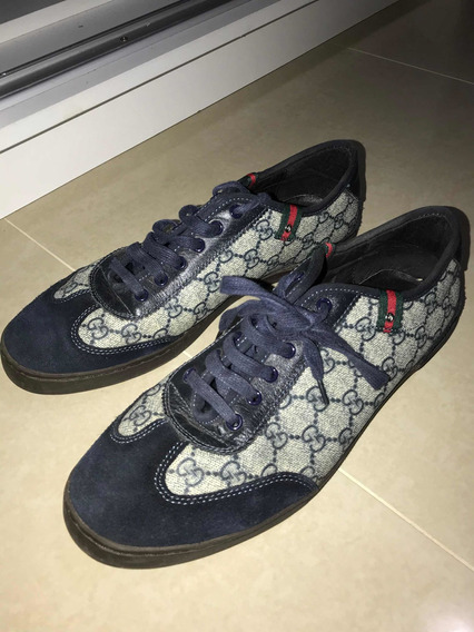 Tênis Gucci Sneaker Tamanho 42 Original Seminovo