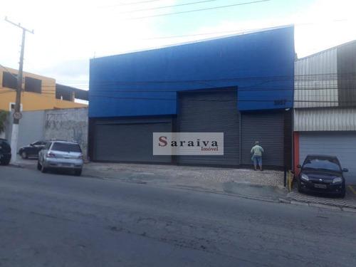 Galpão À Venda, 420 M² Por R$ 2.000.000 - Vila Moraes - São Paulo/sp - Ga0145