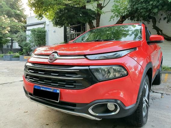 Fiat Toro Freedom 2.0 4x4 Año 2016color Rojo As Automobili