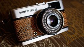 Linda Câmera Fotográfica Olympus Trip 35 ( Revisada )