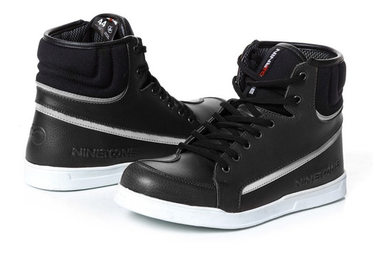 Zapatillas Sneakers Nine To One Rome Urban By Ls2 Negro Um
