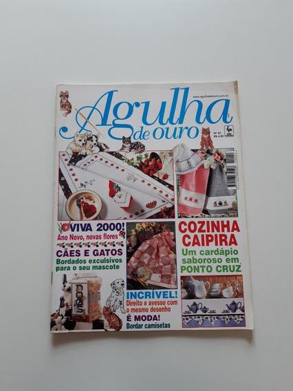 Revista Agulha De Ouro Ponto Cruz Cozinha Caipira D710