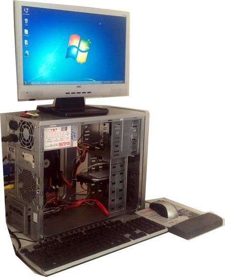 Pc Completo: Gabinete + Monitor Lcd + Impressora