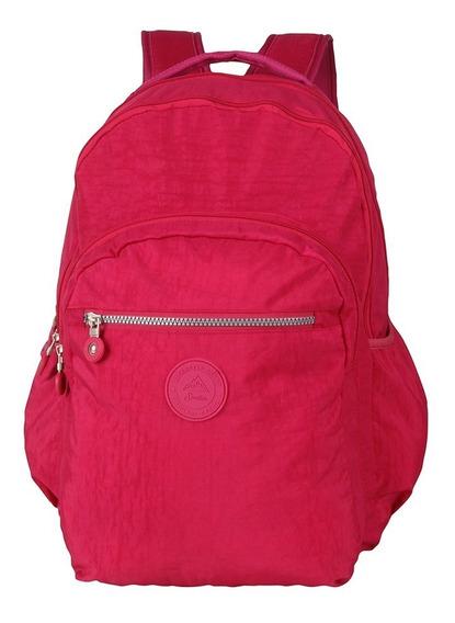Mochila Spector Pink Moda Feminina Moderna Resistente 18 L