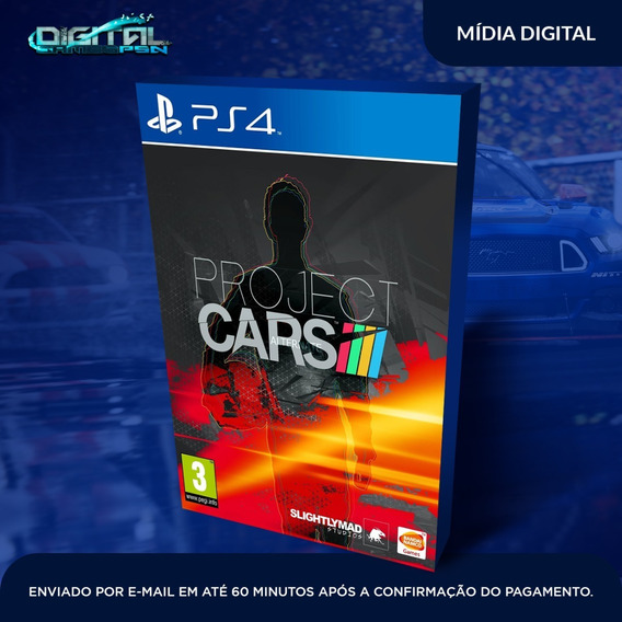 Project Cars Ps4 Psn Jogo Digital Envio Rapido Original