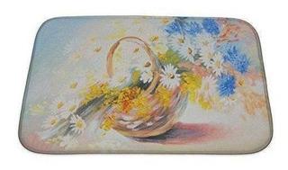 Gear New Pintura Al Óleo Abstracto Ramo De Flores De