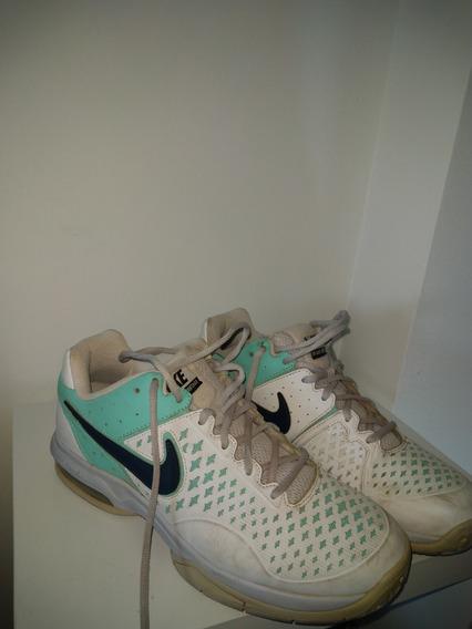 Zapatillas Nike Tenis Mujer Con Camara De Aire (cuero)