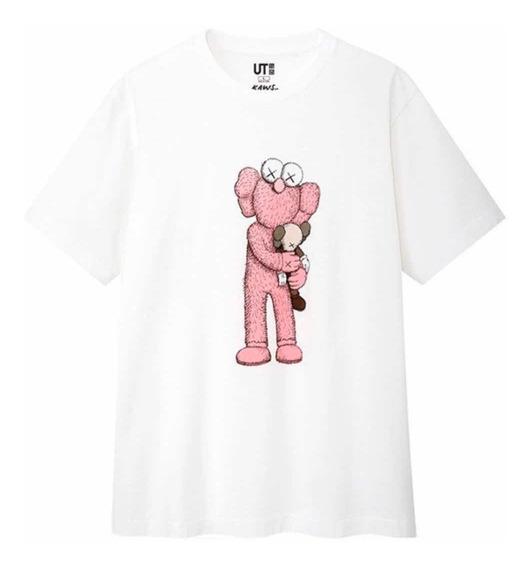 Playera Tshirt Kaws X Uniqlo Plush Summer Collection Origina
