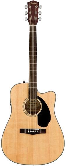 Violão Eletroacústico Fender Cd-60sce Nat