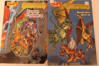 1998 Lote Comic Gargoyles Gargolas Disney Ole! Olé! No 1 Y 3