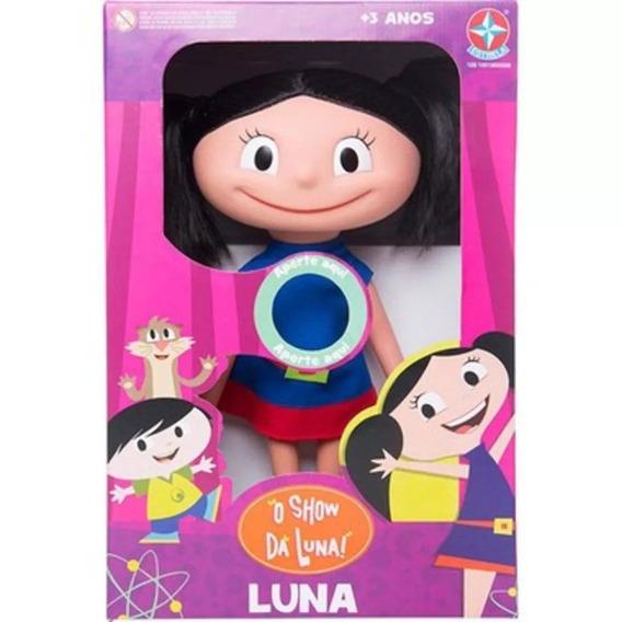 Boneca Com Som Luna Estrela O Show Da Luna
