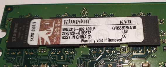 Memoria Kingston 1gb Ddr2 533mhz - Pc Escritorio