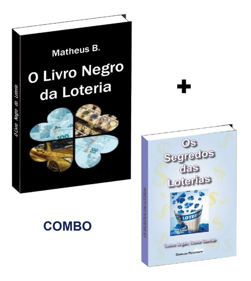 O Livro Negro Da Loteria + Livro Segredos Das Loterias