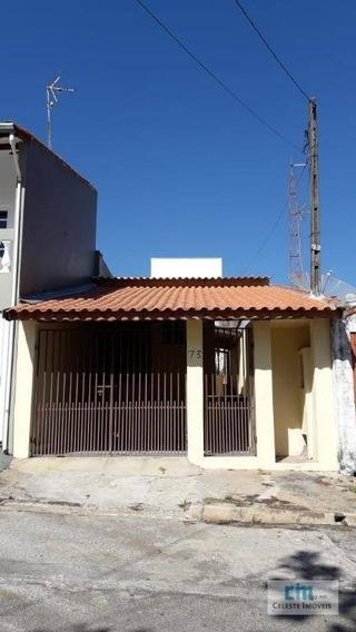 Casa Com 1 Dormitório Para Alugar Por R$ 750,00/mês - Jardim Santa Cruz - Boituva/sp - Ca0471