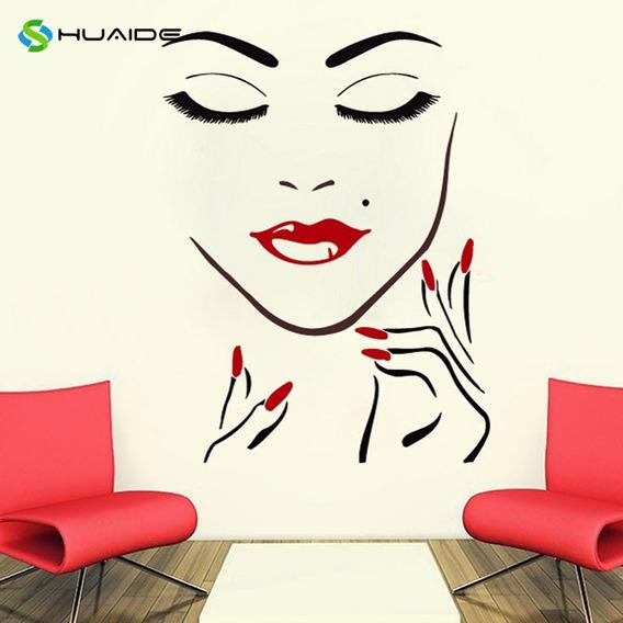 Adesivo Para Maquiadoras Salão Manicure Decoração Unhas