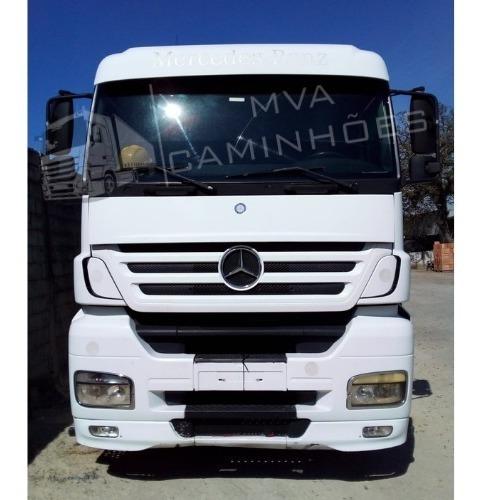 Imagem 1 de 12 de Caminhão Mercedes Axor 2035 S Trucado