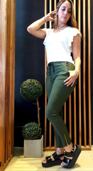 Pantalón Babucha De Bengalina Por Talle Del S Al Xl Mujer