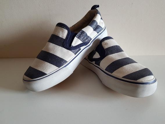 Zapatillas Panchas Niños Talle 19