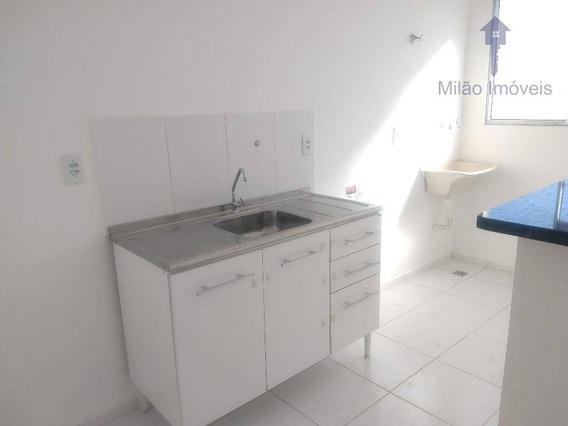 Apartamento Com 2 Dormitórios Para Alugar, 47 M² - Condomínio Parque Sicília - Parque Campolim - Sorocaba/sp - Ap1044