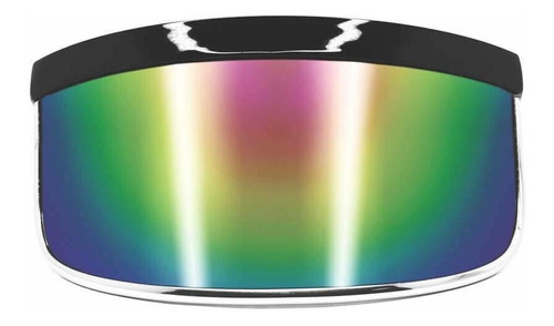 Gafas De Sol Con Visera  Espejo Arcoíris  Invertidor G...