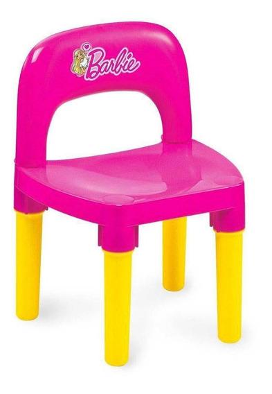 Cadeirinha - Barbie - Rosa E Amarelo - Fun