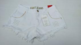 Short Jeans Coca Cola Feminino Original