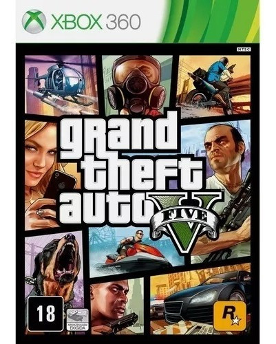 Jogo Gta V Xbox 360 Gta 5 Ltu 3.0 Rgh Lt Não Roda Em Travado
