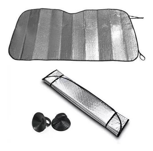 Protetor Solar Tapa Sol Automotivo Para-brisa Metalizado