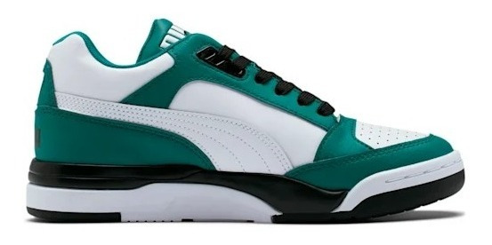 Tenis Puma Palace Guard Colorblock Mujer Sneakers Verde