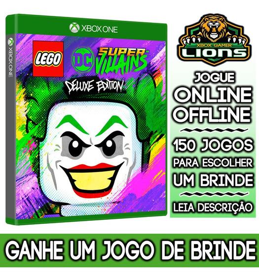 Lego Dc Super-vilões Edição Deluxe Xbox One + Brinde