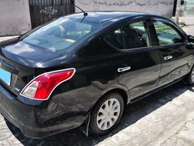Nissan Versa 1.6 Año 2015 Color Negro 62.400 Km