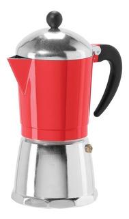 Cafetera Oggi 6579.2 Capacidad De 12 Oz Color Rojo
