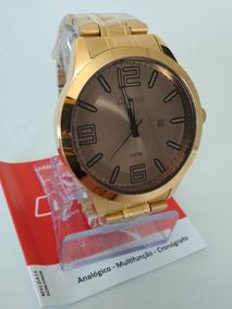 Relógio Condor Dourado Masculino Co2115xz/4c